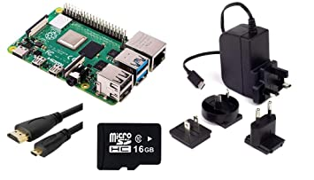 Raspberry Pi 4 Model B 2GB Kit: Amazon co uk: Computers & Accessories