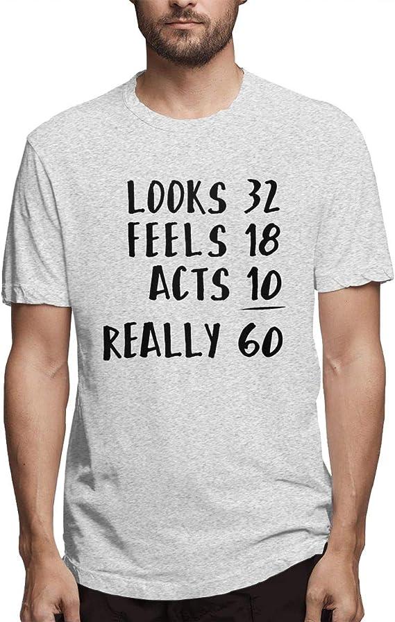 Im not 50 im 18 hommes t shirt tee drôle nouveau qualité premium design cadeau d/'anniversaire