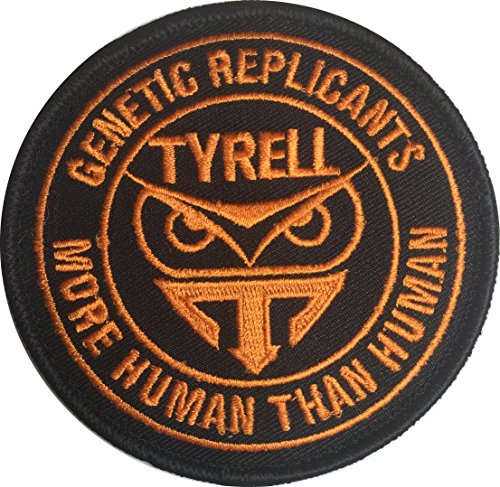 Patch Squad Men's Blade Runner Tyrell Genetic Replicant MoreThan Human (Blade Vest Costume)