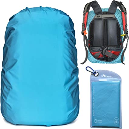 Waterproof Backpack Cover Travel Camping Rucksack Rain Cover With Storage Bag
