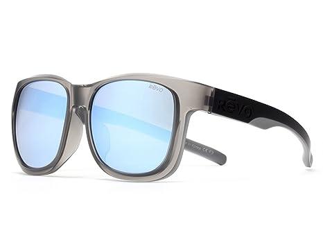 f22d85382fbc Amazon.com  Revo Odyssey 6002-00 GF BL Shiny Gray   Blue Water ...