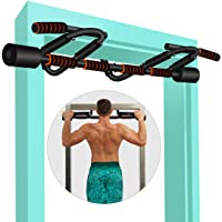 KLL Pull up Bar for Doorway, Multifunctional Strength Training Pull-up Bars for Home Gym Exercise, Doorway Pullup Chin…