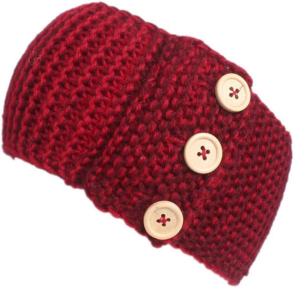 Crochet Knitted Button...
