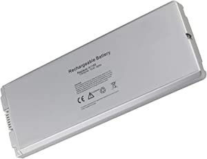 "Bay Valley Parts 55WH Battery for Apple MacBook 13"" A1185 A1181 MA561G/A MA561FE/A MA561LL/A MA566 MA566FE/A MA566G/A MA566J/A White (Mid./Late 2006, Mid./Late 2007, Early/Late 2008, Early/Mid. 2009)"