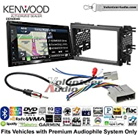 Volunteer Audio Kenwood Excelon DNX694S Double Din Radio Install Kit with GPS Navigation System Android Auto Apple CarPlay Fits 2007-2010 Edge (Without factory amplified sound)