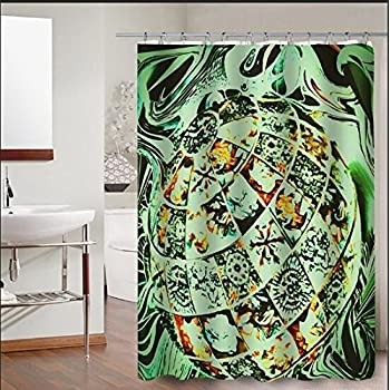 36 X 72 Inch TV Show Style Shower Curtain Waterproof Fabric FCDY
