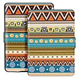 Ayotu Colorful Case for Kindle Paperwhite E-reader Auto Wake/Sleep Smart Protective Cover Case,Fits All 2012, 2013, 2015 and 2016 Versions Kindle Paperwhite 300 PPI,K5-04 The Totem