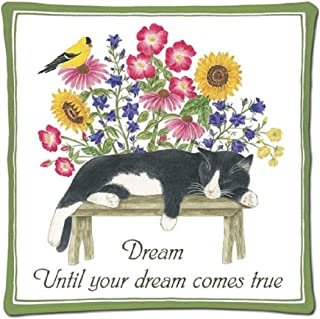 product image for Alices Cottage AC12444 Cat on Bench Hotpad by Alices Cottage