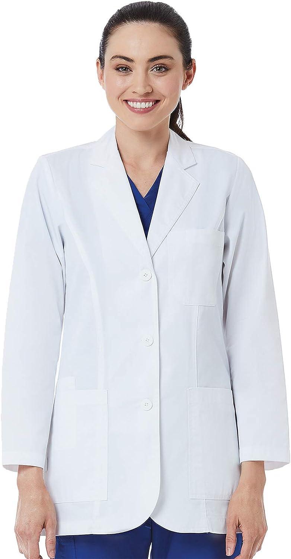 Maevn RED Panda Ladies Consultation Coat: Clothing