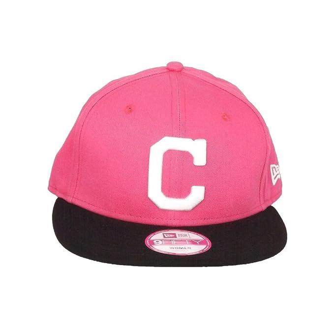A NEW ERA Gorra 9Fifty MLB Cleveland Indians Lic003 Rosa Negro Talla   Ajustable  Amazon.es  Ropa y accesorios aa3d3e9a068
