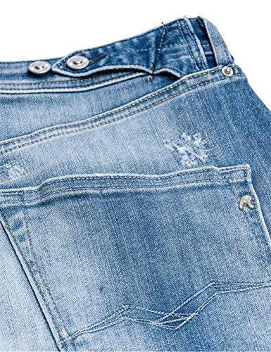 blue 9 Replay Denim Pilar Azul Mujer Pantalones gwgqI8YU