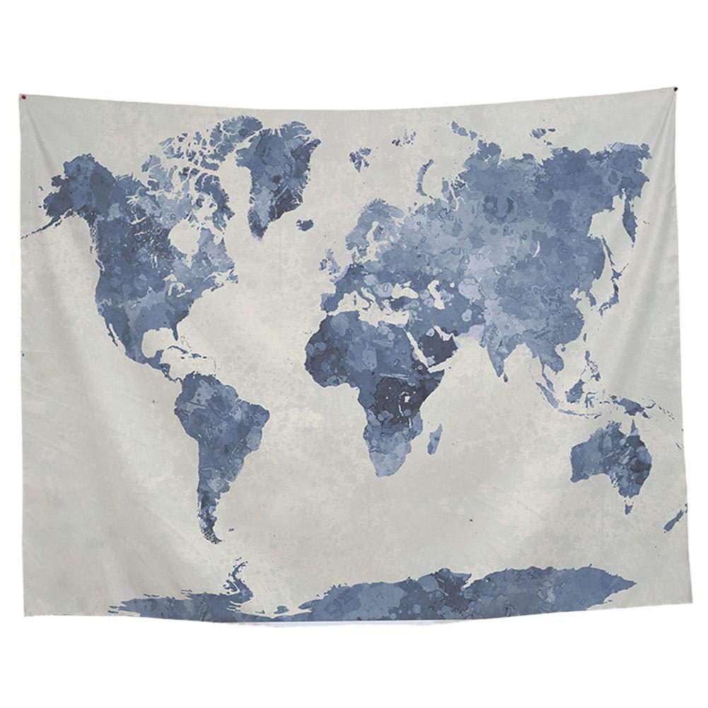 店舗良い インドのタペストリー壁掛けタペストリー ヨーロッパとアメリカの長方形プリント壁掛け世界地図タペストリー B ッピータペストリーベッドカバーインドの東洋のサイケデリック 200×150CM B B07MM1VVKM B07MM1VVKM, 知床興農ファームWEB直売店:02a63015 --- yelica.com