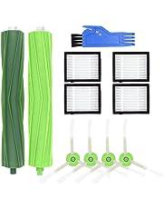 Subtop Reemplazo del Kit de Filtro y Cepillo Lateral y Cepillo de Rodillo Compatible iRobot Roomba