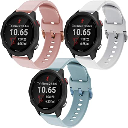 Amazon.com: Intoval compatible con Garmin Forerunner 245 ...