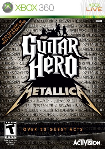 Guitar Hero Metallica - Xbox 360