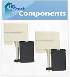 2-Pack W10613606 Refrigerator Compressor Start Relay & Capacitor Replacement for Amana SXD25QA3W (P1181310W W) Refrigerator - Compatible with W10613606 Start Device Relay Overload With Capacitor