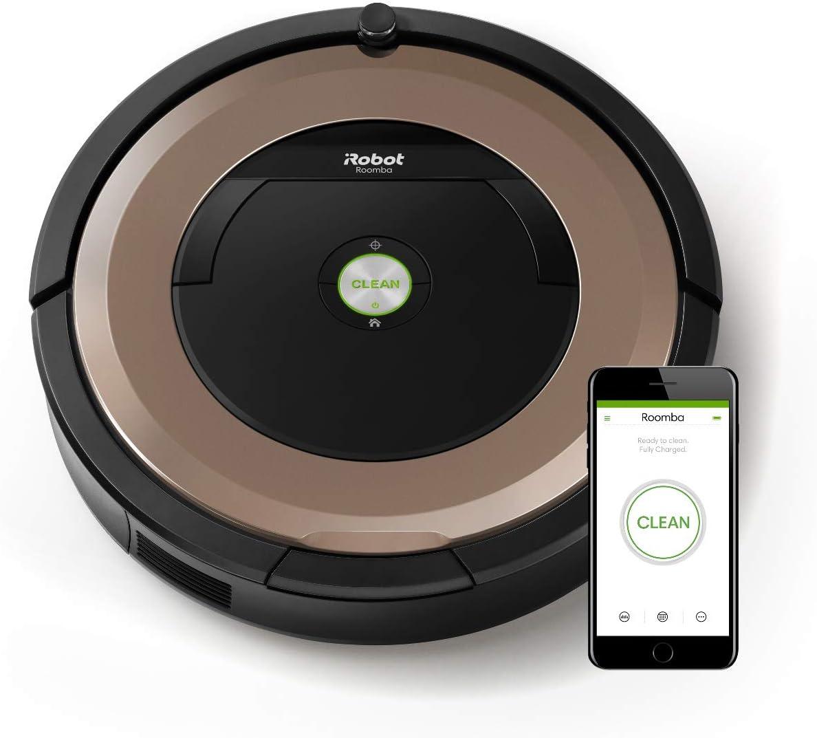 iRobot Roomba 895 - Robot Aspirador Óptimo para Mascotas, Succión ...