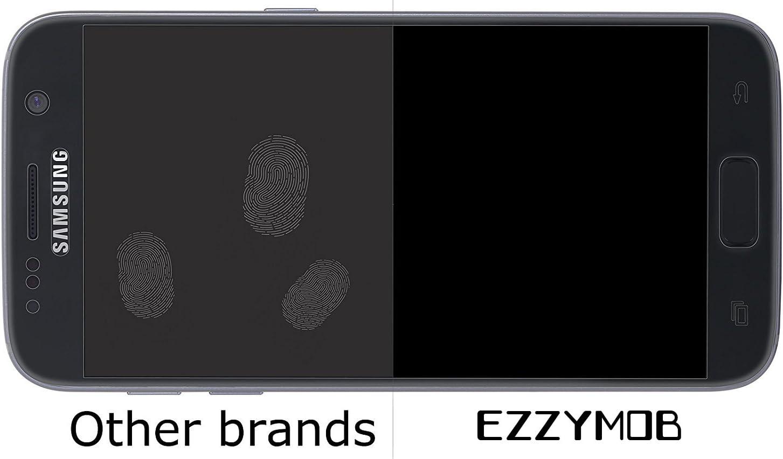 bord /à bord ajustement Parfait. Bubble Gratuit avec rayures et impacts Drop protection 9H r/ésistance clair Verre balistique Samsung Galaxy S7/protection d/écran 3d sculpt/é par Ezzymob/®