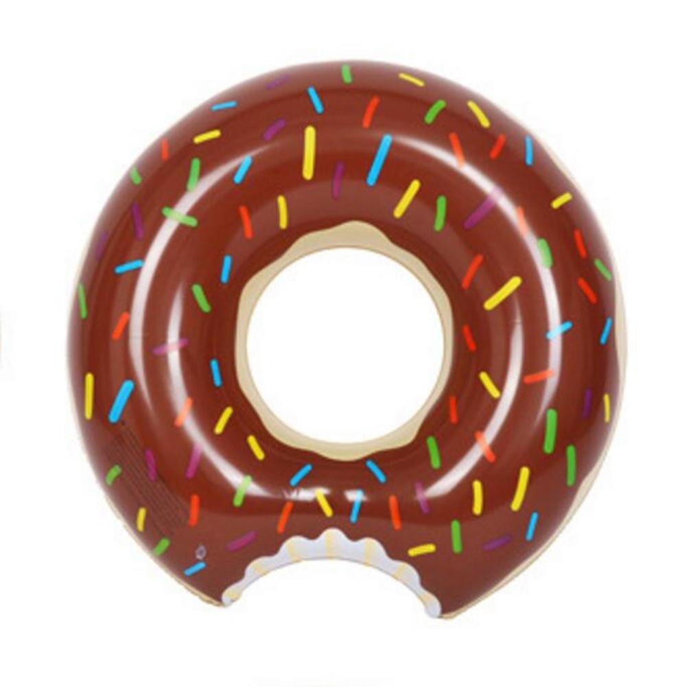 OOFWY Donut gigantesca piscina inflable flota de la piscina juguetes flotador de la natación para adultos piscina flotadores inflables rosquilla nadada del ...