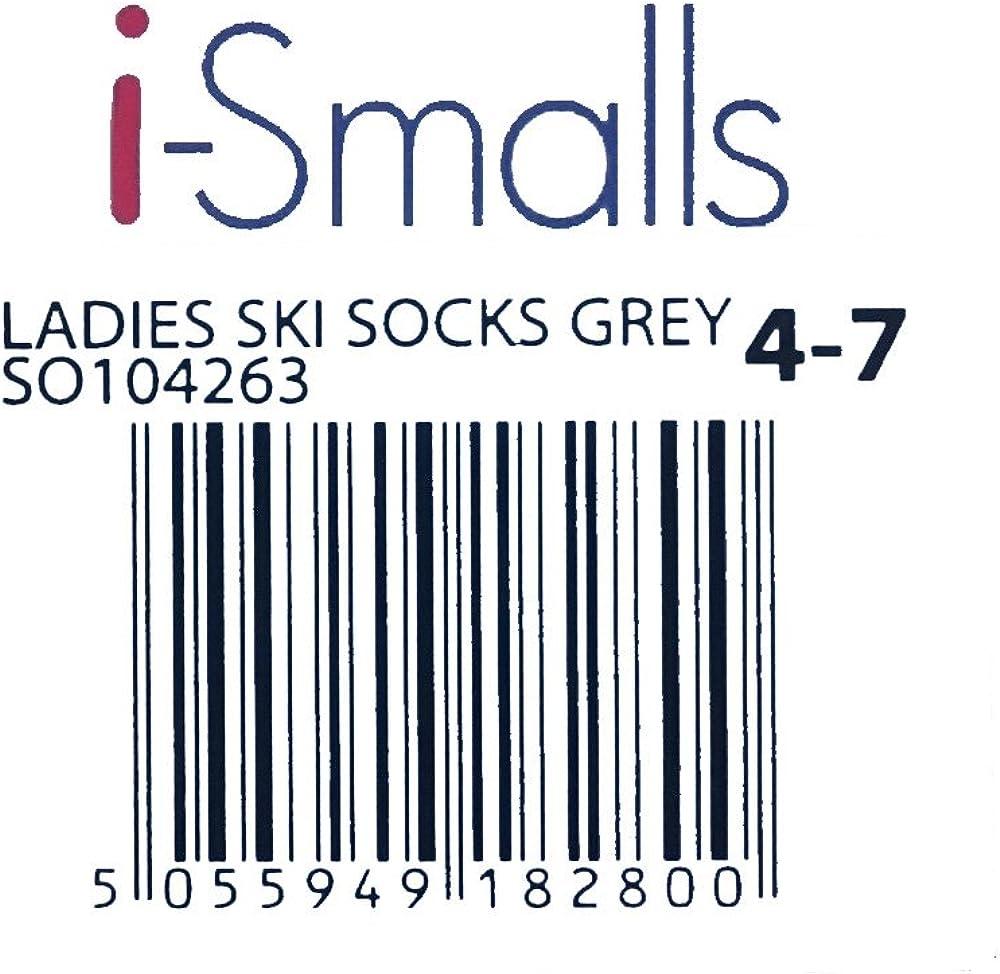 i-Smalls 4 Paires de Chaussures de Ski pour Enfants /à Haute Performance Chaussettes Thermiques /à Long Manchon