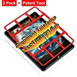 Alignment Tolerance is Less Than 0.1mm, 2 Pack i-Pad Pro 10.5 Tempered Glass Screen Protectors, 9H 2.5D Edge Clear LCD…