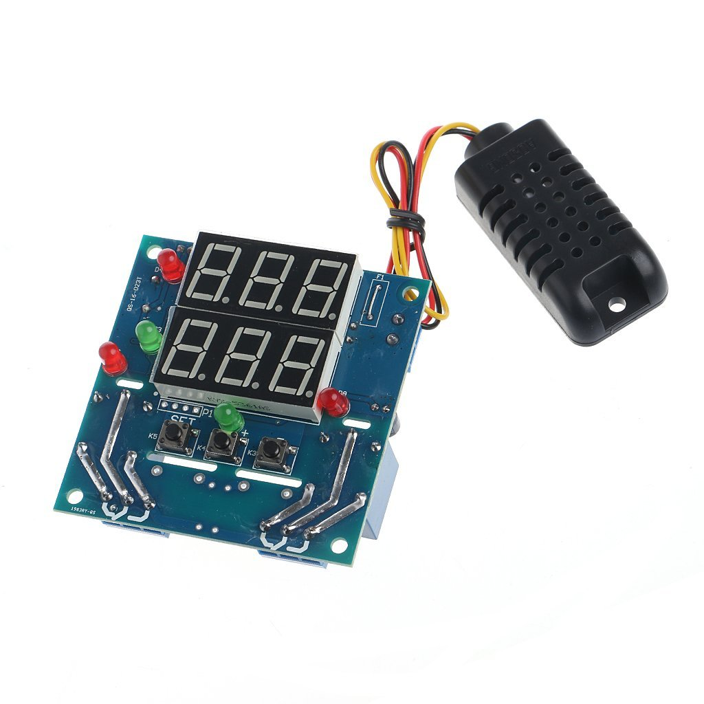 Sixsons AC/DC 12V Digital Intelligent Temperature And Humidity Controller Module (#121)