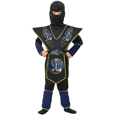 Amazon.com: Charades Boys Cobra japonés Ninja Samurai ...