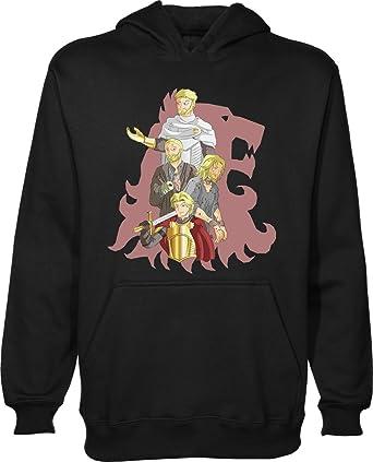 Juego de Tronos de la Casa Lannister camiseta Unisex Jersey sudadera con capucha Negro negro xx-large: Amazon.es: Ropa y accesorios