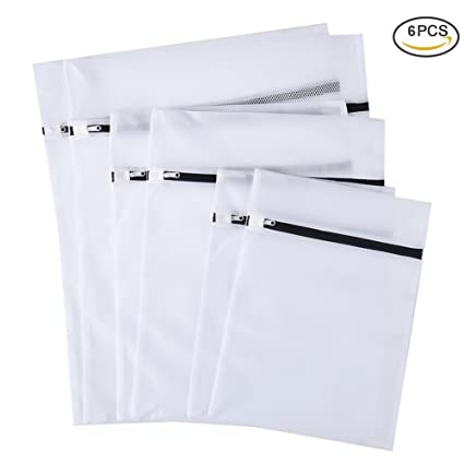 uarter malla bolsa de lavandería bolsa de lavado ropa delicada bolsas para ropa sucia espesada con