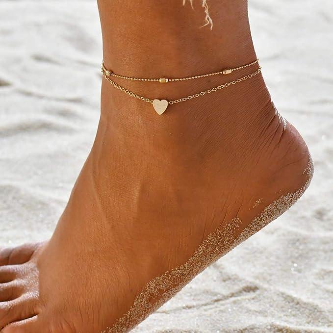 Flower anklet Holidays SALE Gold ankle bracelet