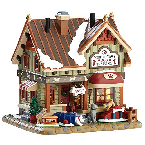 Lemax Christmas Village Building, Perfect Paws Dog Training
