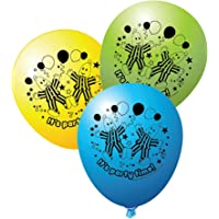 Bananas In Pyjamas Latex Balloons Pack Of 6 One Size