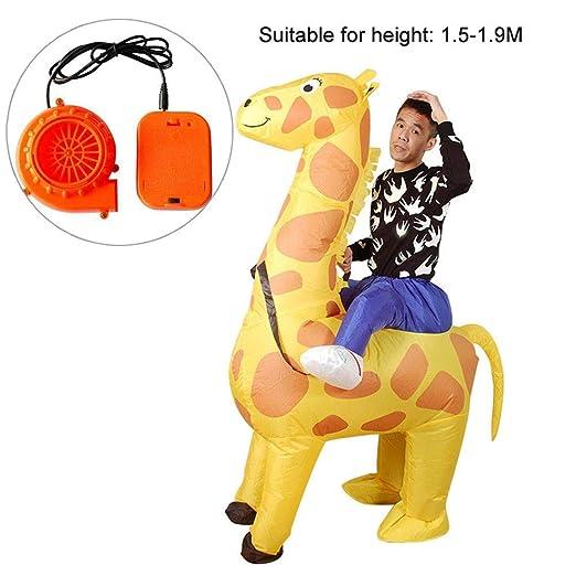 Disfraz hinchable de jirafa, disfraz de disfraces divertido ...