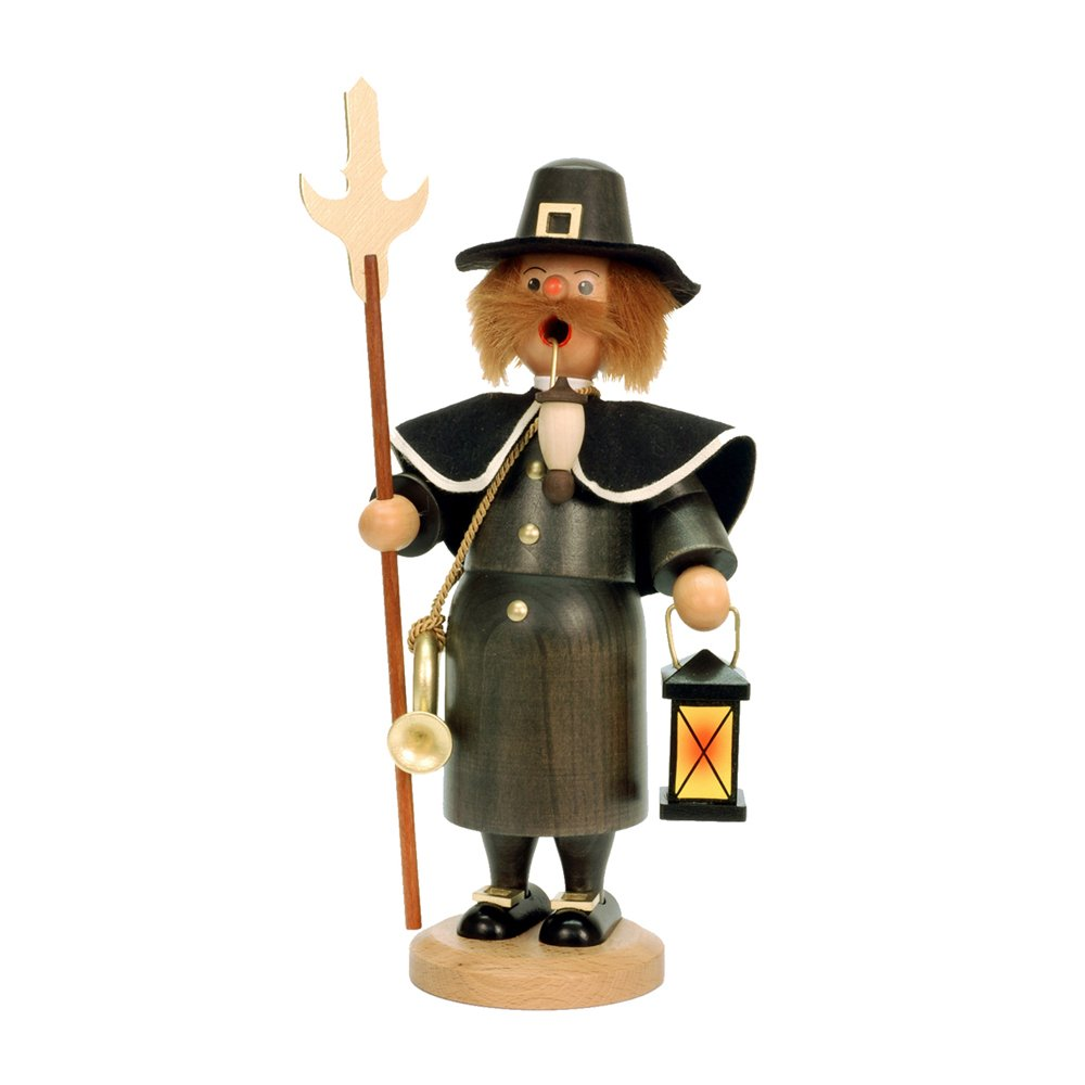 Christian Ulbricht Night Watchman Incense Burner by Alexander Taron