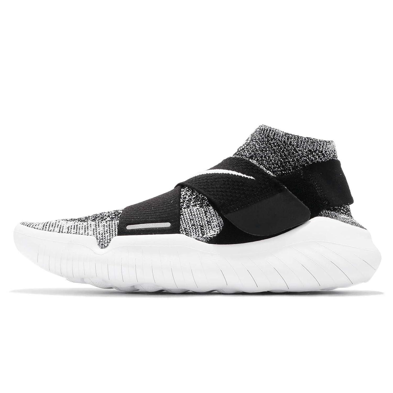 (ナイキ) フリー RN モーション FK フライニット 2018 メンズ ランニング シューズ Nike Free RN Motion FK 2018 942840-001 [並行輸入品] B07C3VKCMF 28.0 cm ブラック/ホワイト