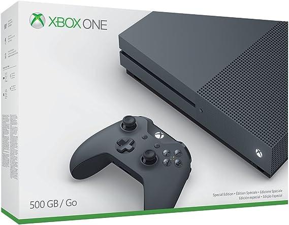 Xbox One S Storm Grey Console - 500 GB (Exclusive To Amazon.Co.UK) [Importación Inglesa]: Amazon.es: Videojuegos
