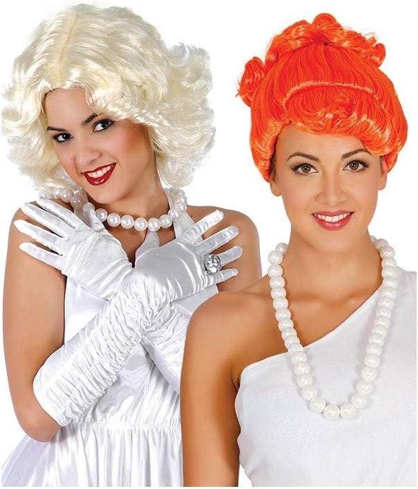 DISBACANAL Collar Perlas Wilma Picapiedra: Amazon.es: Juguetes y ...