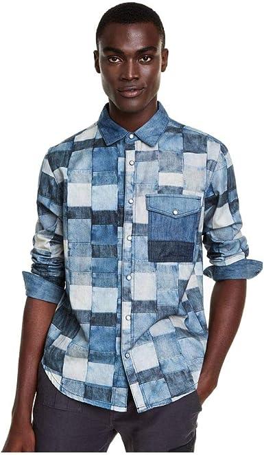 Desigual - Camisa Tony Hombre Color: 5053 Talla: Size XL ...
