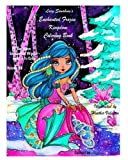 Lacy Sunshine's Enchanted Frozen Kingdom Coloring Book: Winter Christmas Fariries, Sprites, Dragons, Woodland Santa and More All Ages Volume 48 (Lacy Sunshine's Coloring Books)