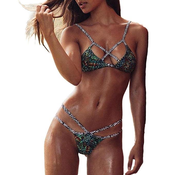 Costumi da bagno,Beauty Top Bikini Sexy Brasiliana Donna Mare imbottito Push -Up Reggiseno