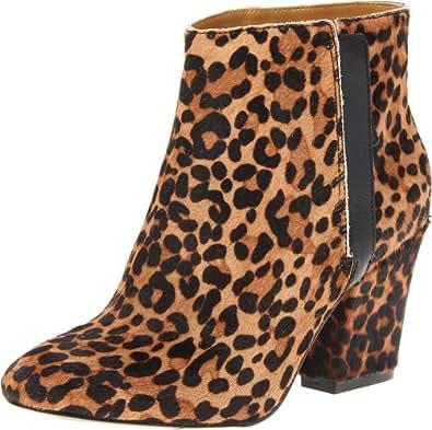 Nine West Women's Darsy Ankle Boot,Brown Multi/Pony,6 M US