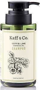 Kaffir Lime Essential Oil Anti Dandruff Shampoo - Non Toxic Hair & Scalp Care - Natural Treatment for Dandruff, Flaking, Itchy & Dry Scalp - No Paraben, No SLS, SLES