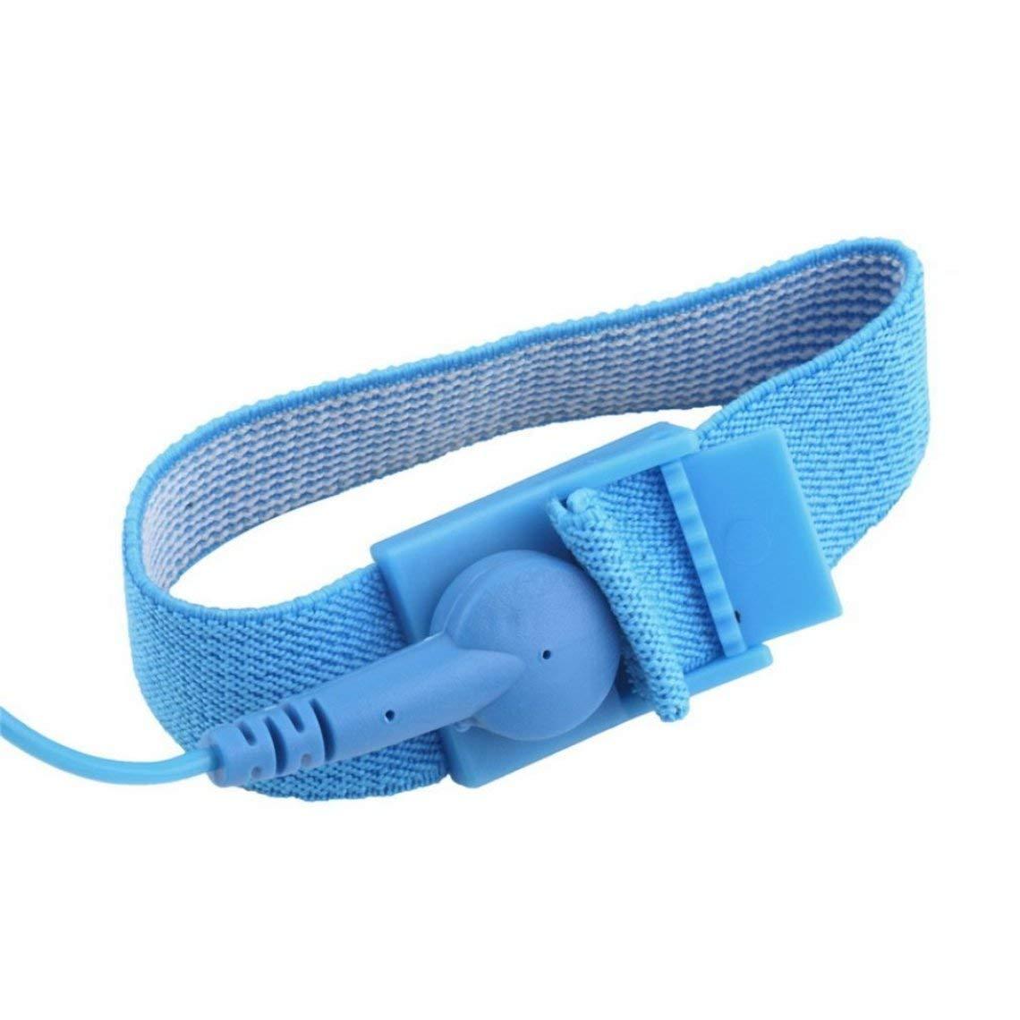 Zinniaya Anti Static ESD Wrist Strap Discharge Band Grounding Prevent Static Shock