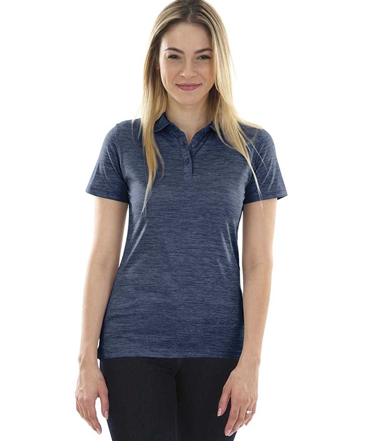 Space Dye Performance Polo Shirt (Women's) by Charles River Apparel