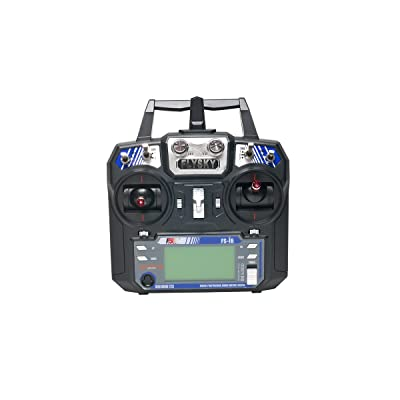 FlySky FS-i6-M2 2.4GHz 6-Channel Transmitter: Toys & Games