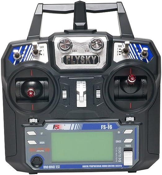 Amazon.com: FlySky FS-i6-M2 2.4GHz 6-Channel Transmitter: Toys & Games