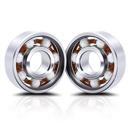 Premsons Ceramic Ball Bearing for Hand Fid Spinner Toy White