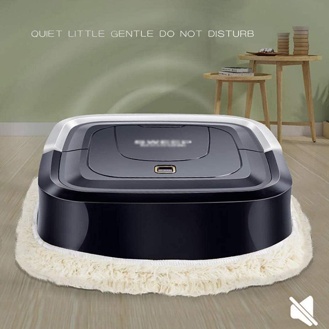 Court peluche robot de nettoyage mécanique Formule Aspirateur ultra-mince for Office Salon Chambre LMMS (Color : A) B