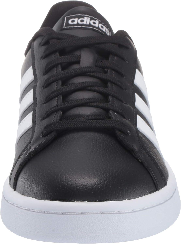 adidas Grand Court, Chaussures de Tennis Femme Noir Blanc