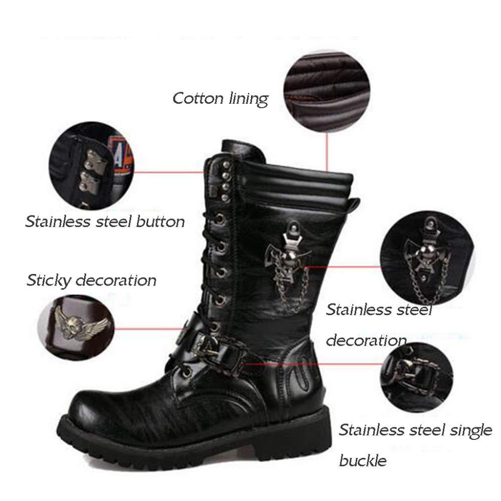 Männer Martin Schuh Männer Arbeit Utility Schuhe Mode Lässig Hohe Hohe Hohe Lederstiefel Winter Outdoor Lange Reitstiefel 0920fc